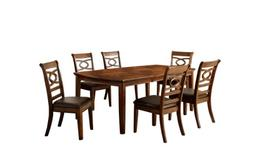 Furniture of America Reminson 7-Piece Dining Table Set with