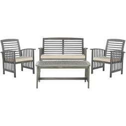 Rocklin 4 Piece Seating Group with Cushions