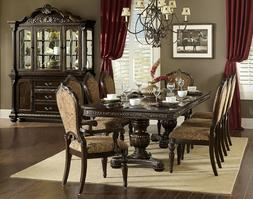 "HOMELEGANCE ""Russian Hill"" Pedestal Dining Room Set - FREE D"