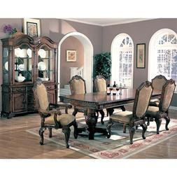Saint Charles 7 Piece Formal Dining Room Group with China Ca
