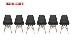 Inspirer Studio Set of 6 New 17 inch SeatDepth Eames Style S