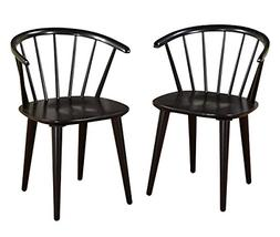 Target Marketing Systems Set of 2 Florence Dining Chairs wit