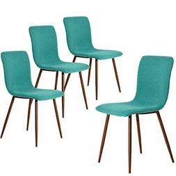 Coavas Set of 4 Eames Dining Chairs