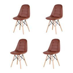Set Of 4  Modern Style Dining Chair  Mid Century Dining Room