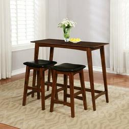 Linon Sloan 3 Piece Counter Height Dining Set