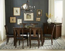 Square Leg Table Set 7 BRHWG6270 A-America Warm Gray Brookly