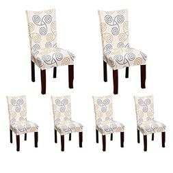 Deisy Dee Stretch Chair Cover Removable Washable for Hotel D