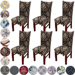 Stretchy Parson Chair Slipcovers for Dining Room Chair Seat