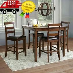 Sycamore 5-Piece Counter-Height Dining Set Abbyson Design Br