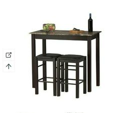 Linon Tavern Collection 3 Pc Table Set