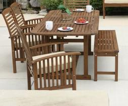 Tim 6 Piece Dining Set with Cushion-BRAND NEW -UNBOXED-