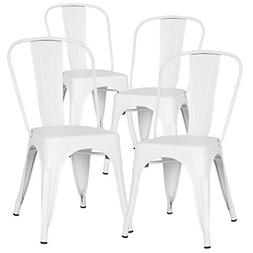 Poly and Bark Trattoria Side Chair in White