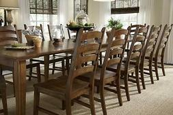 A-America Toluca Ladder Back Dining Side Chair - Rustic Ambe