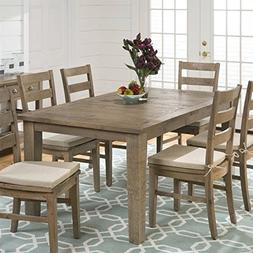 Transitional Rectangular Dining Table