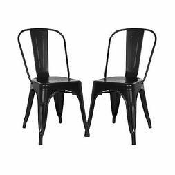 Trattoria Side Chair in Black