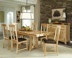 Trestle Dining Table Set 8 CATNT6300 A-America Cattail Bunga