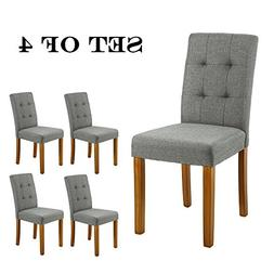 LSSBOUGHT Upholstered Dining Chair Parson Dining Chair with