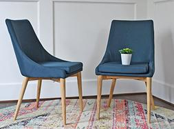 Upholstered Modern Dining Room Chairs - Mid Century Dining T