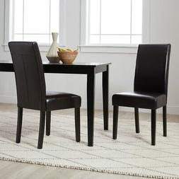 Villa Faux Leather Dining Chairs