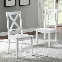 Wooden Farmhouse Dining Chairs Country Cottage Office Room S